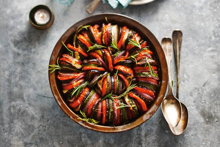 ovenschotel mediterrane groenten